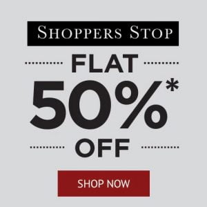 Get Flat 50 off on Shopper Stop