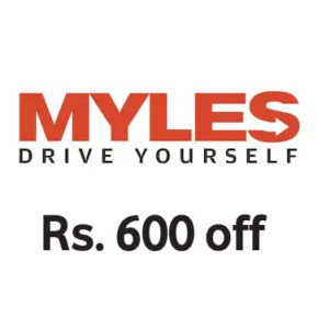 Get Flat Rs. 600 off on myles with paytm