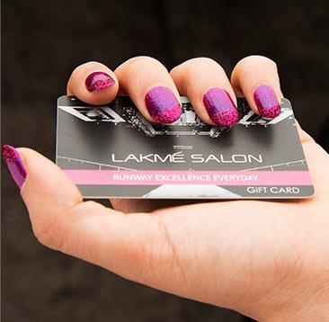 Get Lakme Salon Gift Card Rs. 200 Free