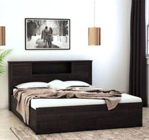 HomeTown Engineered Wood King Bed With Storage