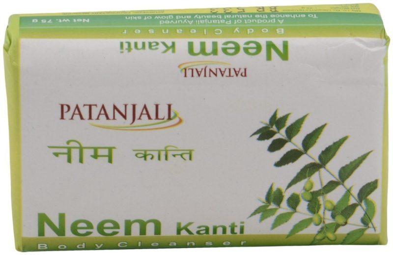 Patanjali Kanti Neem Body Cleanser Soap 75g