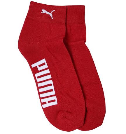 Puma Mens Solid Athletic Socks Pack of 2
