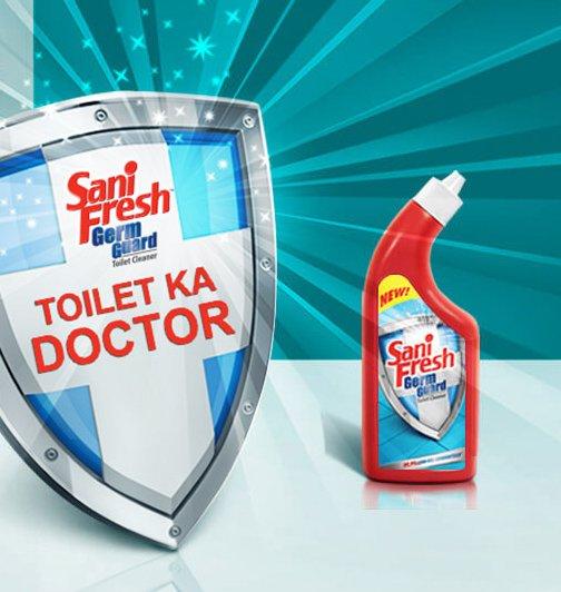Register Get Free Sample of Sani Fresh Toilet Cleaner