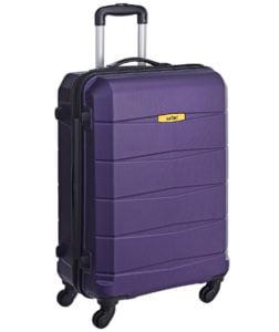Safari Polycarbonate 65 cms Purple Hardsided Suitcase
