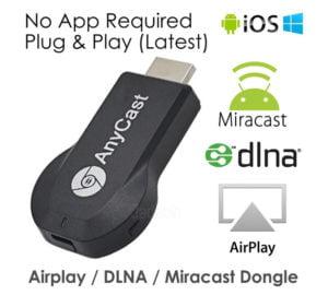 AnyCast M2 Plus Wireless Chromecast Airplay Dongle