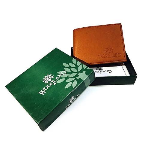 Woodland Tan Brown MenS Wallet