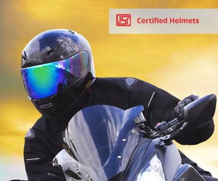 Droom Free ISI Certified Helmet offer