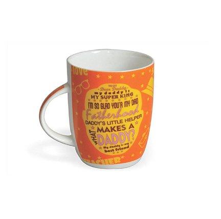 Clay Craft Father Special 350ml Multicolour Milk Mug