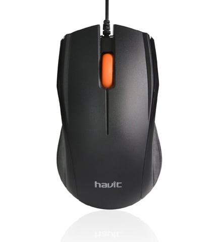 Havit Optimized USB Black Mouse
