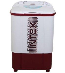 Intex 6.5 kg Semi Automatic Top Load Washing Machine