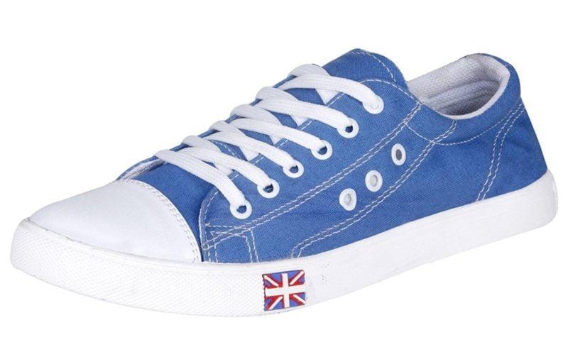 Kraasa Mens Denim Sneakers