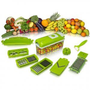 Vegetable Cutter Fruit Slicer Peeler With Manual