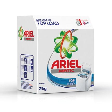 Ariel Matic Top Load Detergent 2 kg Washing Powder