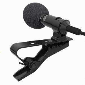 Generic 3.5mm Clip Microphone For Mobile