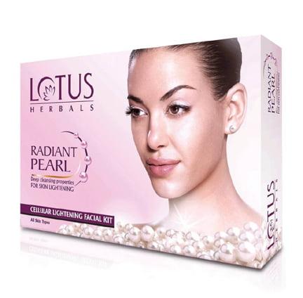Lotus Radiant Pearl 37 g Facial Kit Set of 4