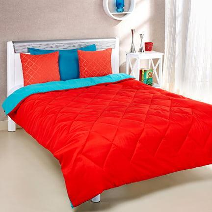 Solimo Microfibre Reversible Comforter