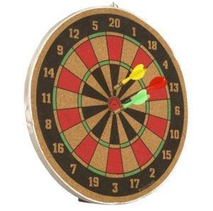 Wood O Plast 12 inch Dart Board Game Set