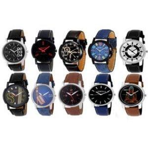 10 Analog Wrist Watches For Men Boys