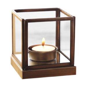 Borosil Mirage Glass Tea Light for Decor