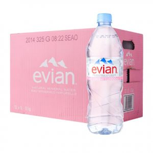 Evian Natural Spring Mineral Rich Water online