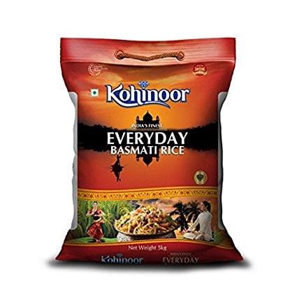Kohinoor Everyday 5kg Basmati Rice Lowest online