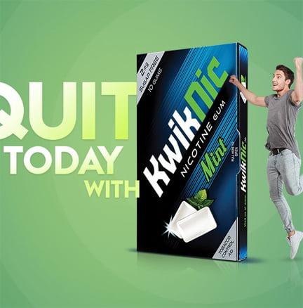 Kwiknic Nicotine Gum Free Sample India