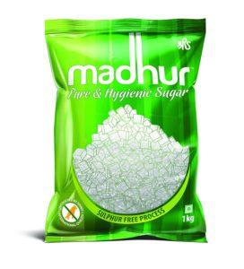Madhur Pure and Hygienic Sugar 1kg Bag