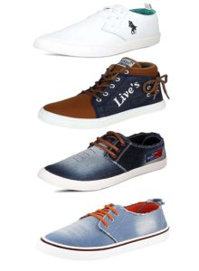 Scatchite Pack Of 4 Footwear Sneakers Casual shoes Loafers Moccasins