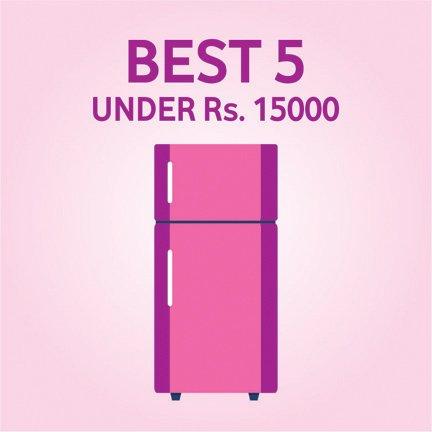 Top 5 Best Refrigerators in India Under Rs. 15000
