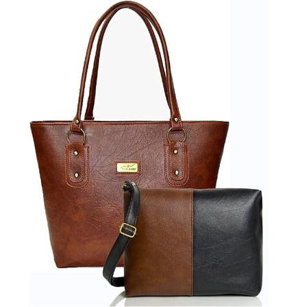 Womens Handbag Sling Bag Combo