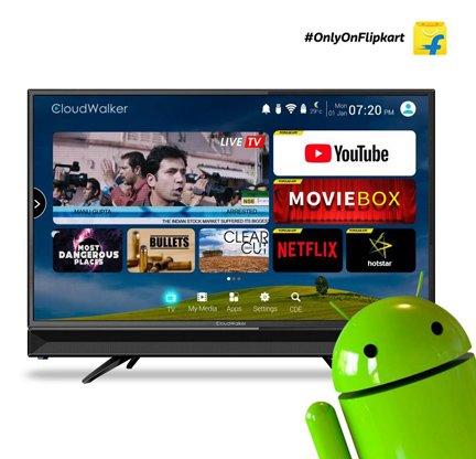 CloudWalker 32 inch HD Ready LED Smart TV