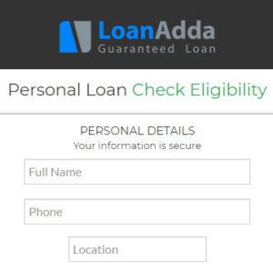 Get Personal Loan with Loan Adda