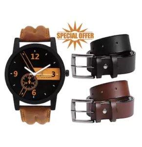Jack Klein Belt Watch Special Combo