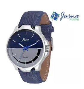 Jainx Blue N Grey Dial Analog watch For Men