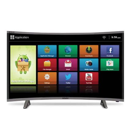 Mitashi 38.5 inch HD Curved LED Smart TV