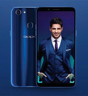 OPPO F5 Sidharth Malhotra Limited Edition Smartphone