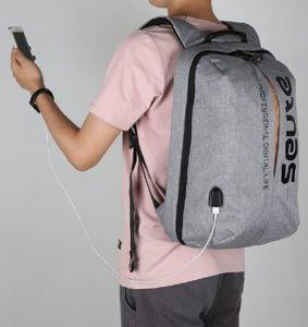 Seute™ TeckPro Laptop 15.6 inch Backpack