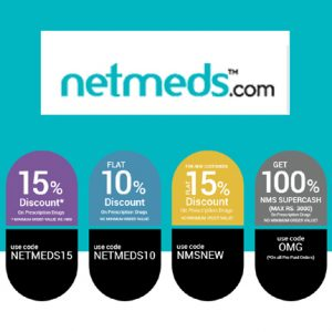 100 NMS Supercash on All Medicines at netmeds