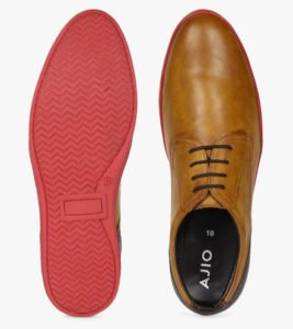 AJIO N 9 Treated Lace Up Shoes