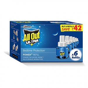 All Out Ultra Clear 270 ml Refill Saver Pack of 6