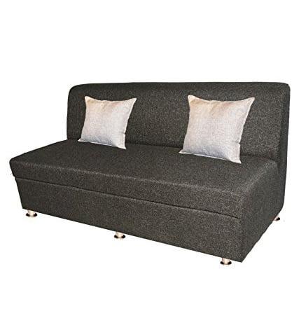Bharat Lifestyle Delta Fabric 3 Seater Sofa