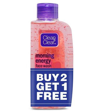 Buy 2 Get 1 free Clean Clear 100 ml Facewash