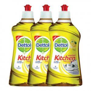 Dettol Kitchen 400 ml Gel Pack of 3