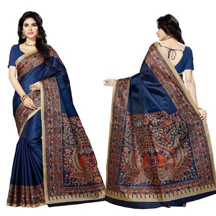 Rani Saahiba Bhagalpuri Printed Art Silk Saree