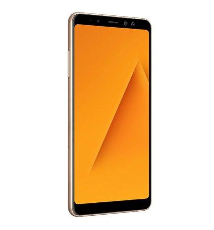 Samsung Galaxy A8 Gold with 6 GB RAM 64 GB Memory