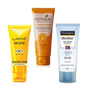 Top 5 Best Sunscreen Lotion Cream In India