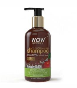WOW Natural Apple Cider Vinegar 300mL Shampoo