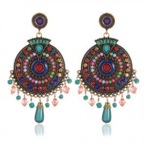 Shining Diva Fancy Party Wear Earrings on Discount