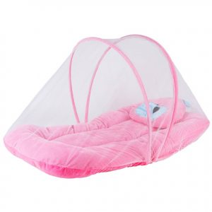 Baby Bed with Mosquito Net Pillow