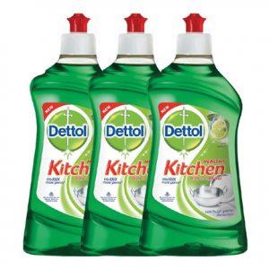 Dettol 400 ml Kitchen Lime Gel Pack of 3